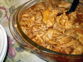 Mom's Chicken and Dumplings (Chicken Paprika). Photo by Karen=^..^=