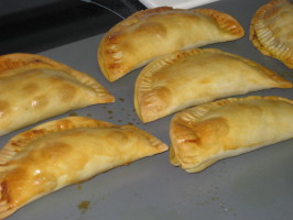 Jamaican Patties; Beef, Chicken, or Lamb. Photo by FrenchBunny