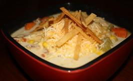 Eat Til You Bust Chicken Tortilla Soup. Photo by blueguitargirl1985