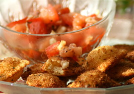 TSR Version of Olive Garden Toasted Ravioli by Todd Wilbur. Photo by Wildflour