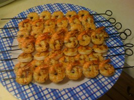 Outback Steakhouse Grilled Shrimp on the Barbie by Todd Wilbur. Photo by mariamcky