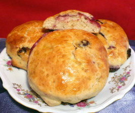 Jimmy Griffin's Perfect Raspberry and Raisin Irish Scone. Photo by twissis