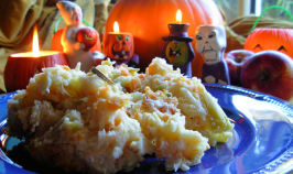 Traditional English Halloween Supper - Mash O' Nine Sorts. Photo by French Tart
