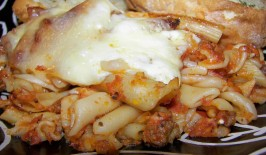 Kittencal's Freezer Baked Ziti (Oamc). Photo by Baby Kato