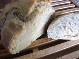 Enjoy No-Knead, Fridge-Friendly Dough Healthy Bread-In 5 Minutes. Photo by 2Bleu