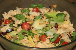 Southwest Salad Mcswap. Photo by ScrappieDoo