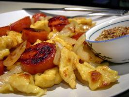 German Dumplings (Spaetzle or Kniffles) for Soup or Saute. Photo by Divaconviva