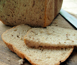 German Country Style Sourdough Rye Bread With Caraway Seeds. Photo by French Tart