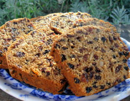 Darjeeling Cranberry, Ginger and Orange Tea Loaf  (Fat-Free). Photo by French Tart