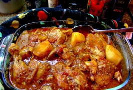 Chicken Stew  With Tomatoes Tonight!. Photo by Zurie