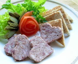 French Style Pate (Easy Microwave Fix). Photo by French Tart