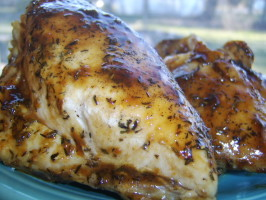 Glazing Your Chicken With Jam and Balsamic - Longmeadow Farm. Photo by LifeIsGood