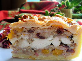 Little Jack Horner's Christmas Chicken, Fruit and Stuffing Pie!. Photo by French Tart