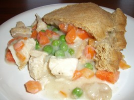 Chicken Pot Pie with Biscuit Crust. Photo by Chef*Lee