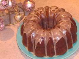 Golden Eggnog Cake. Photo by KateL