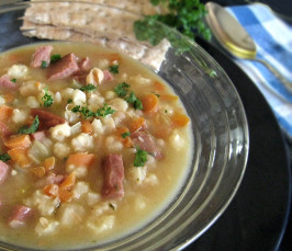 My Favorite Navy Bean Soup...so Easy to Prepare!. Photo by Caroline Cooks