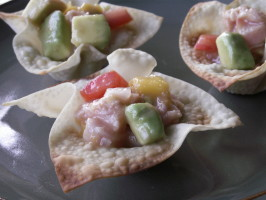 Ceviche With Ahi Tuna. Photo by JanuaryBride