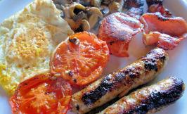 The Full Monty - F E B -  Full English Breakfast. Photo by French Tart