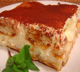 TSR Version of Olive Garden Tiramisu by Todd Wilbur. Photo by Sue Lau