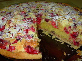 Cranberry and Almond Bakewell Tart: English Classic With a Twist. Photo by French Tart