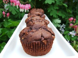 Brownie Muffins That You Wouldn't Expect to Be Good!. Photo by HokiesMom