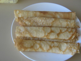 Pancakes With Lemon and Sugar for Shrove Tuesday - Pancake Day. Photo by I'mPat