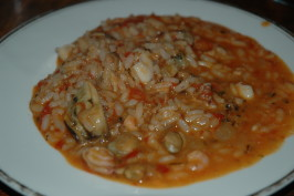 Risotto Coi Frutti Di Mare (Risotto With Seafood). Photo by Sweetiebarbara