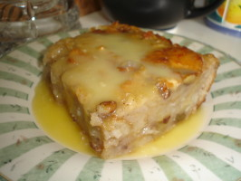 New Orleans-Style Bread Pudding. Photo by chefRD