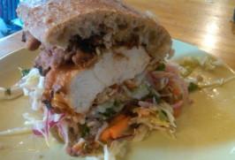 Bakesale Betty's Fried Chicken Sandwich. Photo by writergyrl