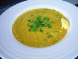 Shorbat Adas(Middle Eastern Lentil Soup). Photo by *Parsley*