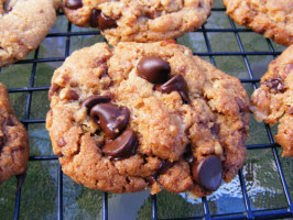Crunchy Toffee Chocolate Chip Cookies. Photo by Lavender Lynn