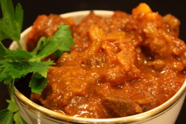 Bo-Kaap Cape Malay Kerrie - South African Cape Malay Curry. Photo by Leggy Peggy
