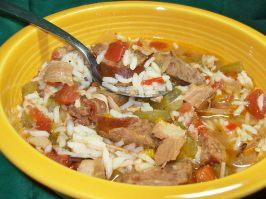Turkey and Sausage Jambalaya. Photo by Chef shapeweaver �