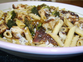 Any Night of the Week Chicken, Pasta, and Broccoli. Photo by LifeIsGood
