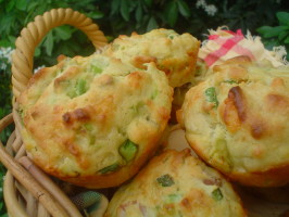 Avocado and Bacon Muffins. Photo by Stardustannie