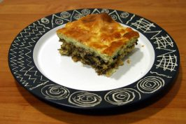 Moussaka. Photo by Dr Tebi