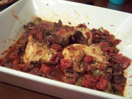 Roasted Chicken Cacciatore. Photo by Cooks4_6
