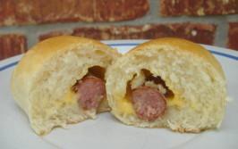 Sausage Kolaches - Klobasnicky. Photo by Hadice