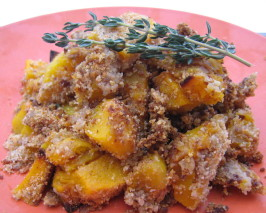 Baked Butternut Squash and Parmesan Cheese Gratin. Photo by ~Leslie~