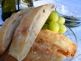 Italian Ciabatta. Photo by Lavender Lynn