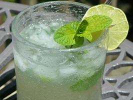 Pineapple Ginger Mojito. Photo by Baby Kato
