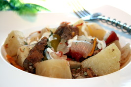 Bayrischer Gulasch: German Goulash Stew - Crock Pot or Oven. Photo by **Tinkerbell**
