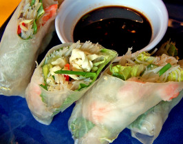 Goi Con - Vietnamese Spring Rolls. Photo by Rita~
