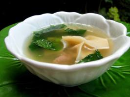 Wonton Soup. Photo by gailanng
