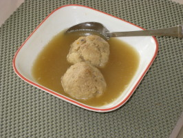 Kittencal's Matzo Ball Soup. Photo by FrenchBunny