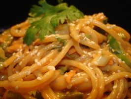Cold Thai Noodle Salad. Photo by Vicki in CT