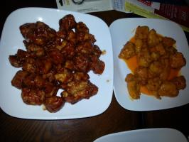 Boneless Hot Wings--Applebee's Copycat. Photo by mbekkum