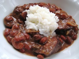 Emeril's New Orleans-Style Red Beans and Rice. Photo by gailanng