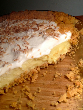 Coconut Cream Pie from Cooks Illustrated. Photo by ninjette