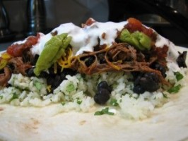 Chipotle Mexican Grill Barbacoa Burritos by Todd Wilbur. Photo by azulpacifica